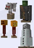 Minecraft SUPAH SCARY Mob Ideas by RedPanda7