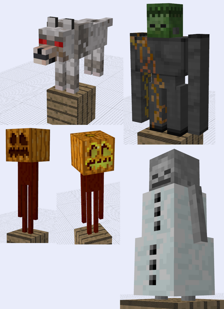 Minecraft SUPAH SCARY Mob Ideas by RedPanda7
