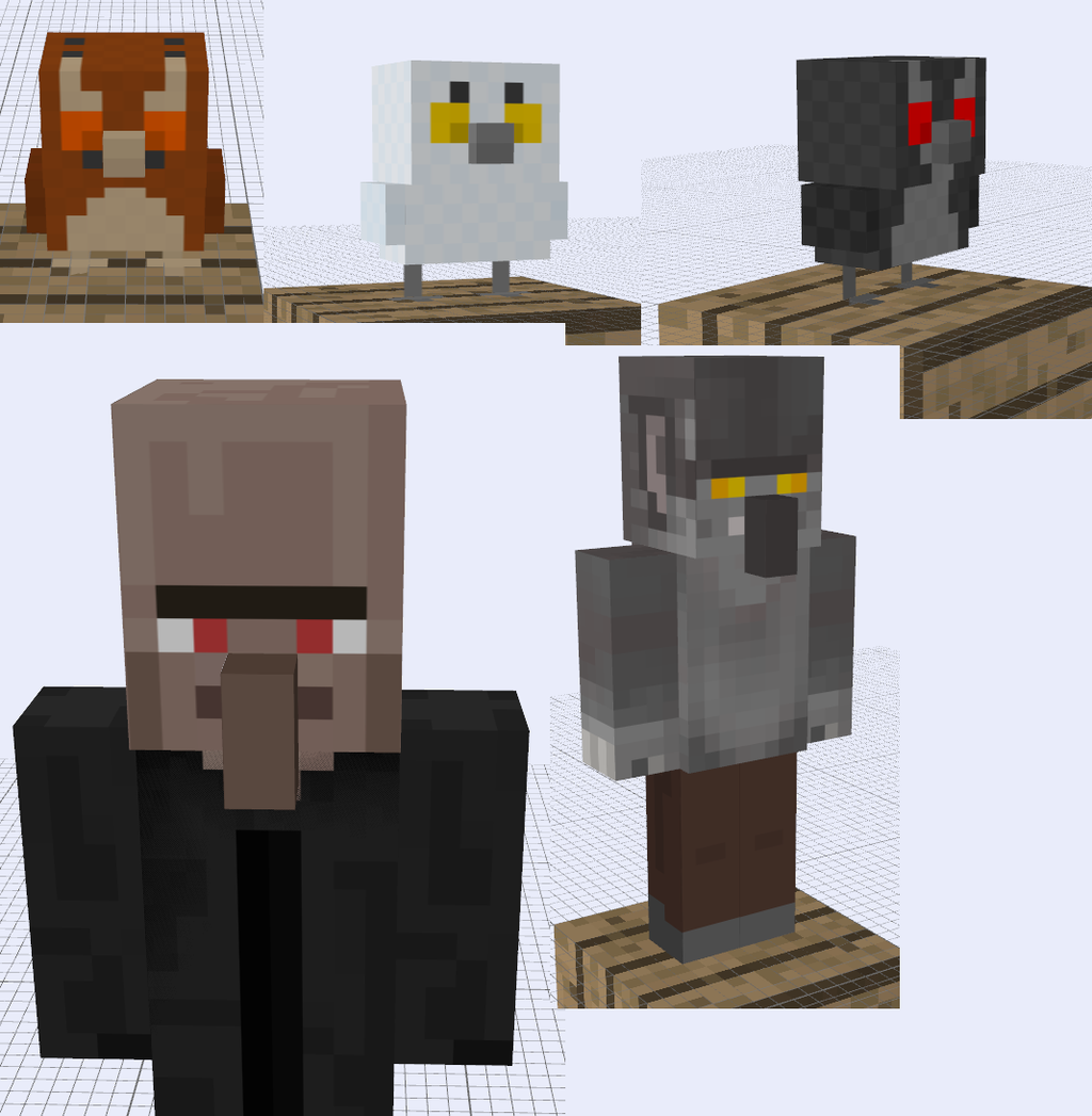 More Minecraft SUPAH SCARY Mob Ideas by RedPanda7 on DeviantArt