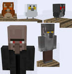 More Minecraft SUPAH SCARY Mob Ideas