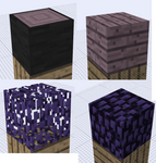 Cheshirecraft - Ender Wood + Leaves