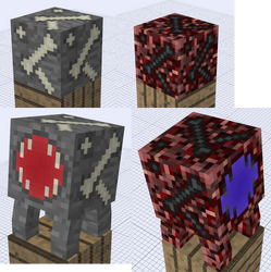 Minecraft - Fossil Ores (with Oretraps)