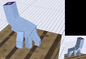 Minecraft - Disembodied Hand