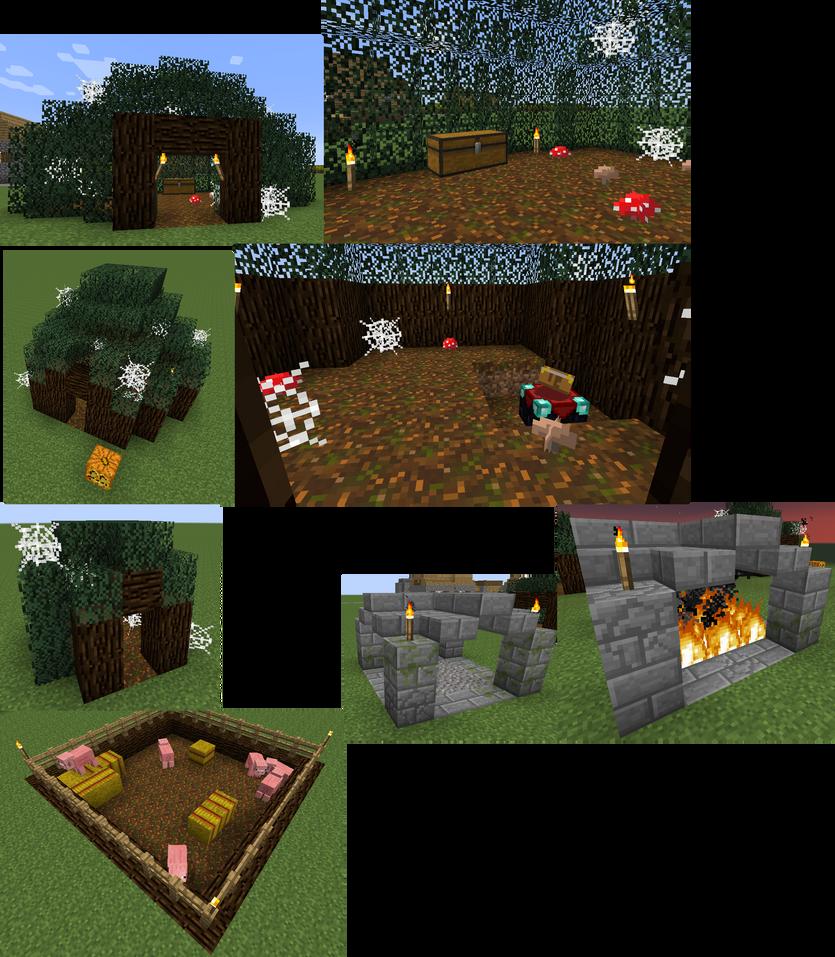 Minecraft Papercraft Villager Blacksmith