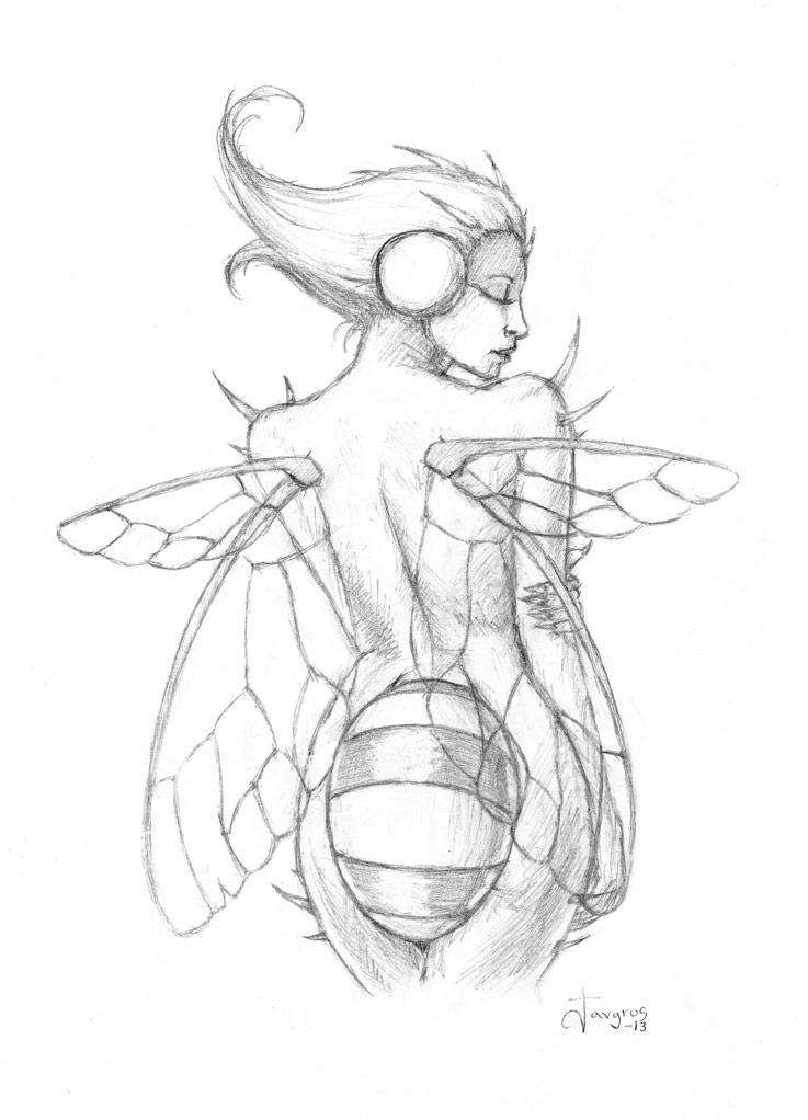 Miss July - sketch by Javyrus