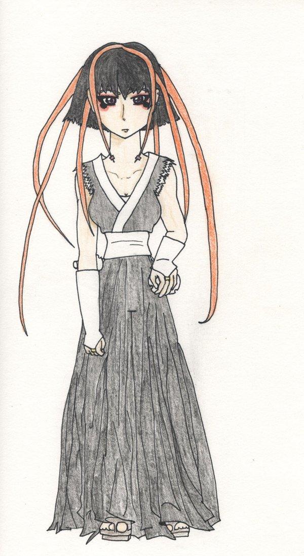 Amaya's Warrior Costume by iMonstar-Chan