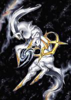 The Creator - Arceus by Thalbachin