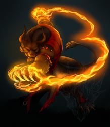 Fire and Smoke, Flame and Rage by Thalbachin