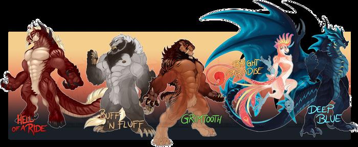June 2019 Character Design Auction
