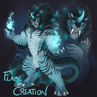 FLAMES OF CREATION character design auction - OPEN by Thalbachin