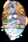 Maud Pie  on Ice Skate
