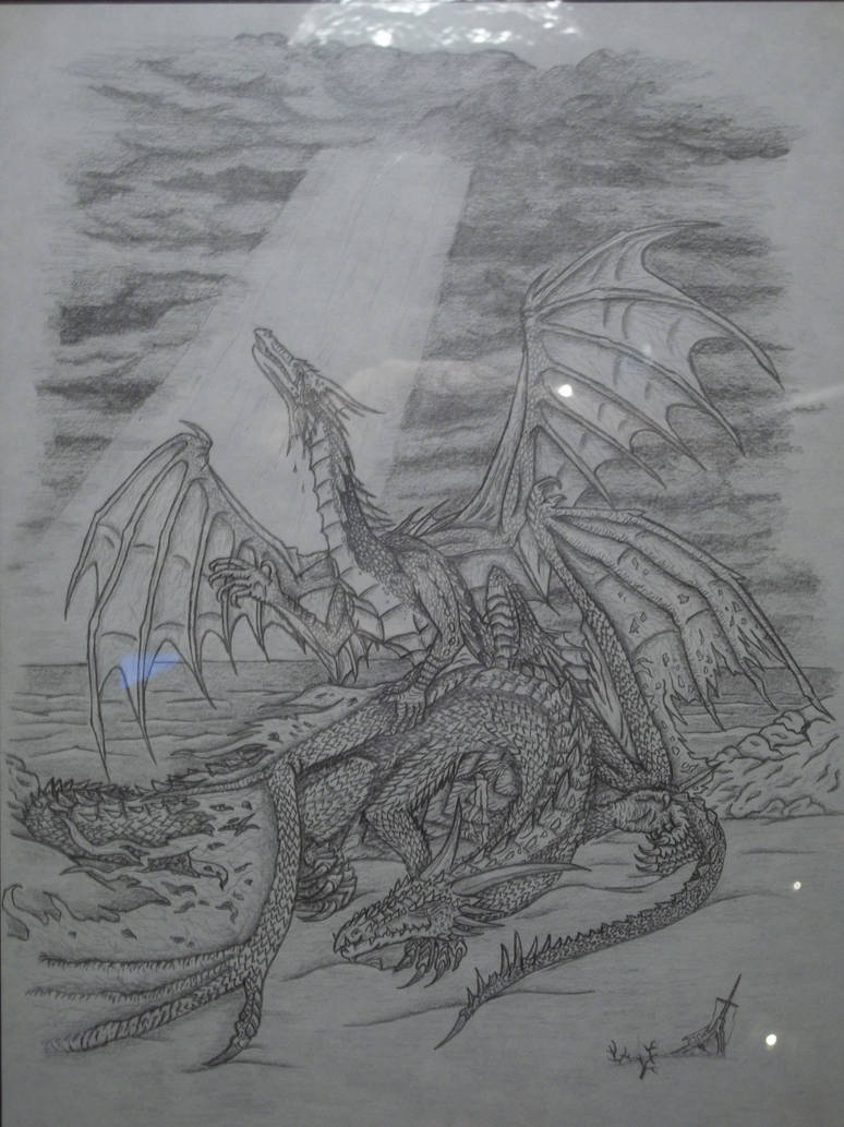 Leviathan and Behemoth by Blade-of-the-Moon on DeviantArt