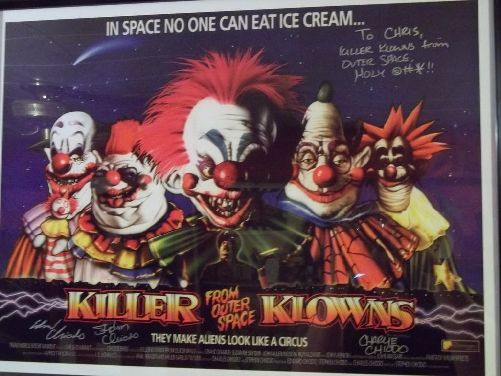 Killer klowns from outer space by blade of the moon on for Killer klowns 2