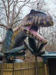 Giganotosaurus Installed Palm trees added 2