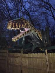 Giganotosaurus Night shot