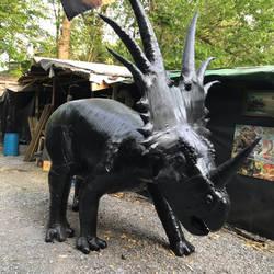 Styracosaurus ready for paint