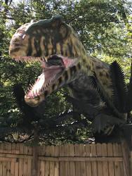 Giganotosaurus with foliage