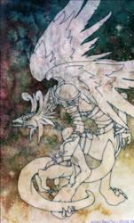 Gargoylemon lineart by ashesxmonster