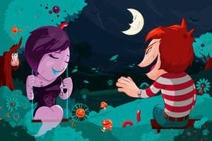 Amor Esquizofrenico by TheDigitalMethod
