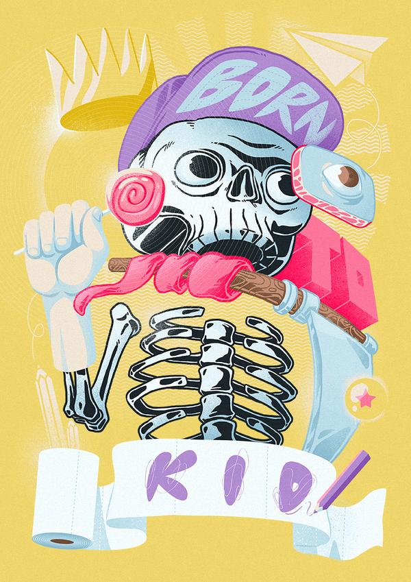 Born to kid by TheDigitalMethod