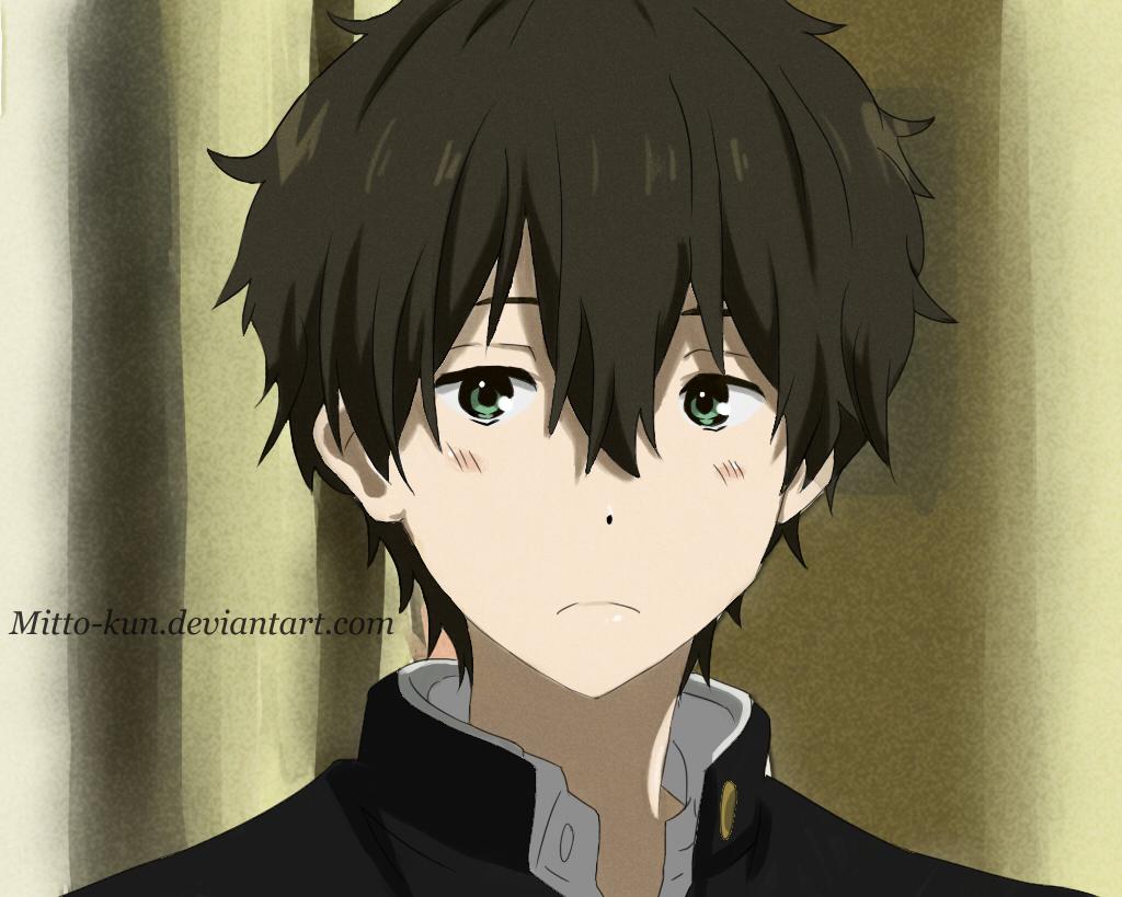 Anime Characters Green : Houtarou oreki gallery