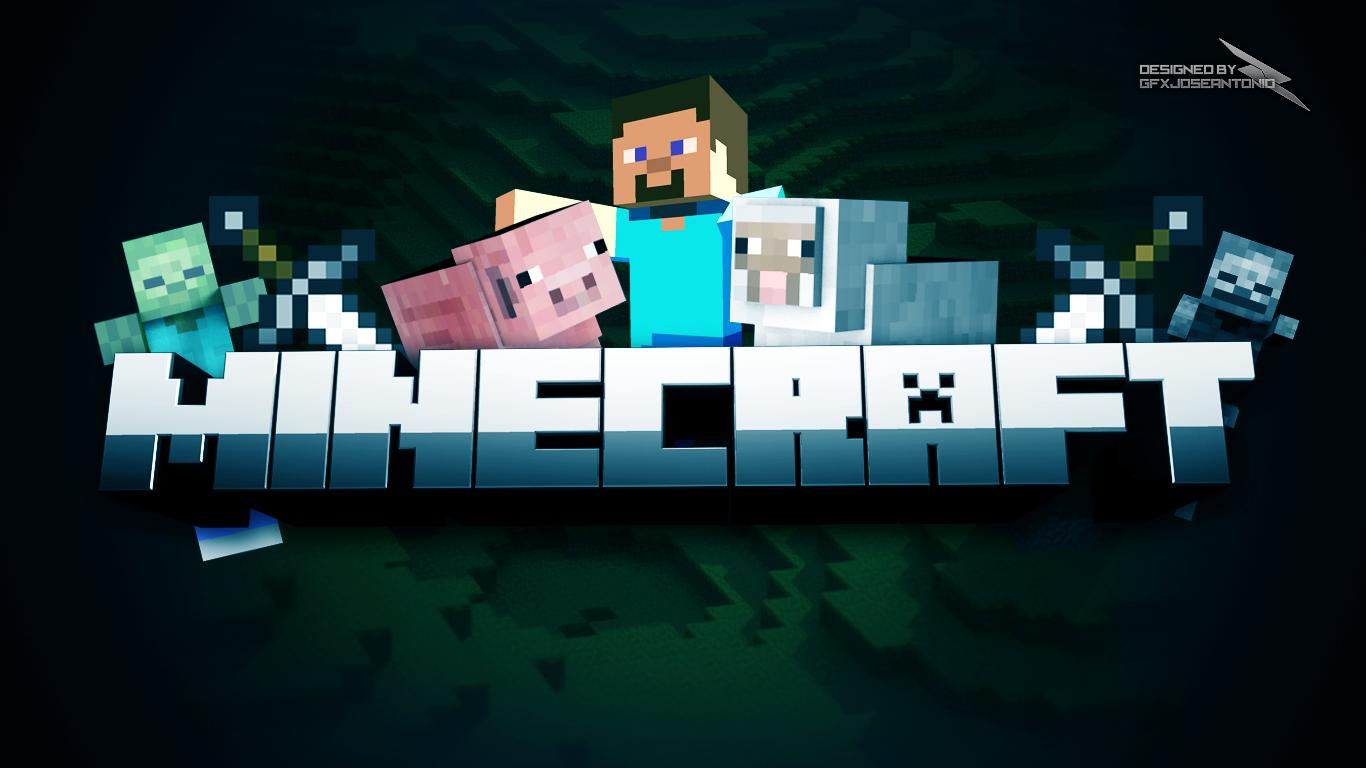 Minecraft wallpaper by gfxjose antonio fan art wallpaper games 2012