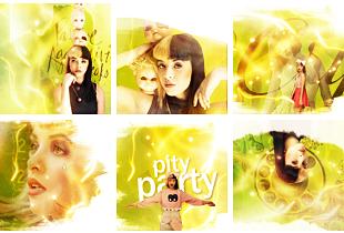 Pity Party Icons by ecstasyvi