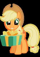 Applejack gift vector.