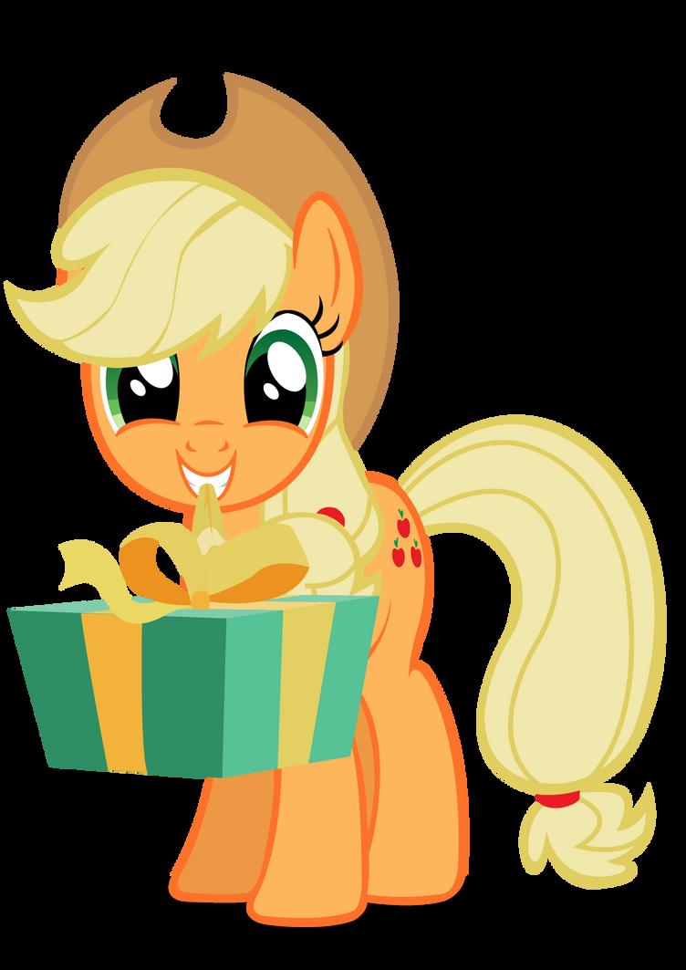 Applejack gift vector. by MasterRottweiler