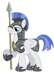 Pegasus Hurricane Soldier vector