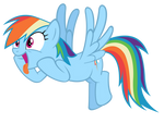 Rainbow Dash wants cider!