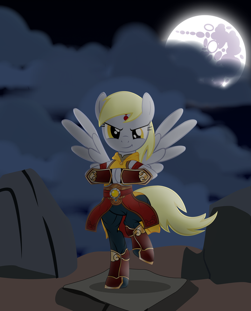 My Little Diablo: Monk (Derpy edition) by MasterRottweiler