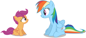 Another Rainbow Dash and Scootaloo