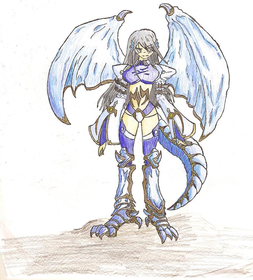 Crystal-Rain Dragonoid by FelgrandDestroyer321