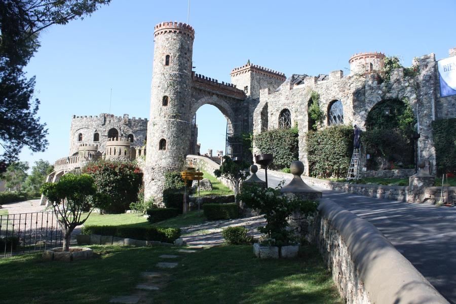 Su pasado minero parece perseguir a este castillo hasta la fecha.