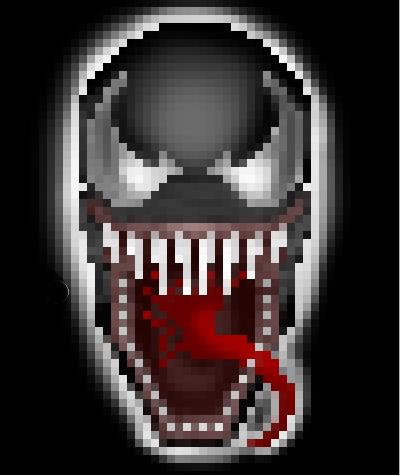 Venom pixel by i-al8f on DeviantArt