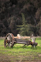 Weathered Wooden Wagon Wheel by RyanVoss