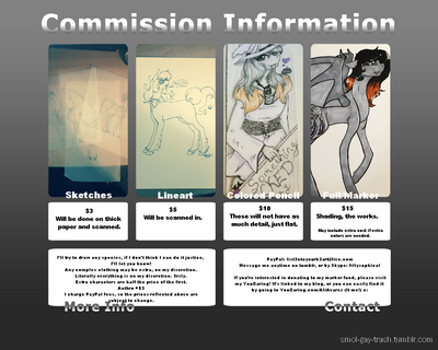 New commission Prices by Hanako-Hisoka
