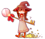 Chibi Candy Witch by somik