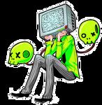 Skull-TV by somik