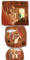 Comic-strip: Beauty by somik