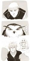 Comic-strip: Owl by somik