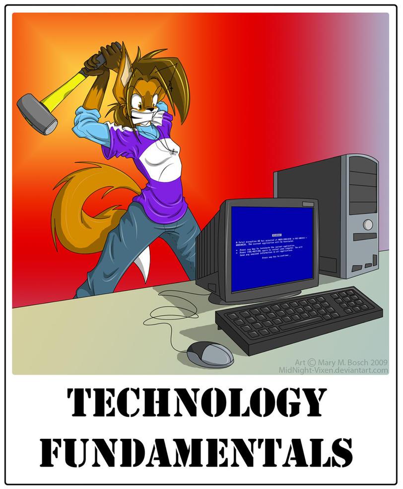 Computer Problems by MidNight-Vixen