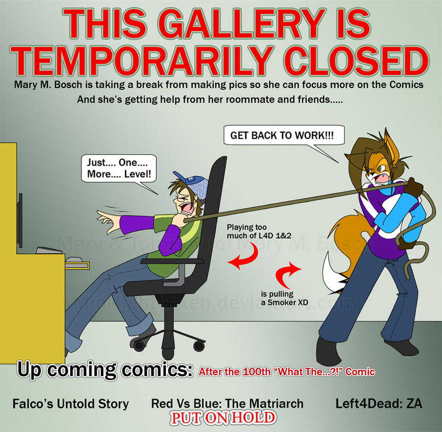 Temporarily Closed by MidNight-Vixen