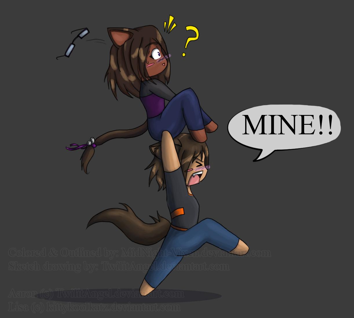 MINE... ALL MINE by MidNight-Vixen