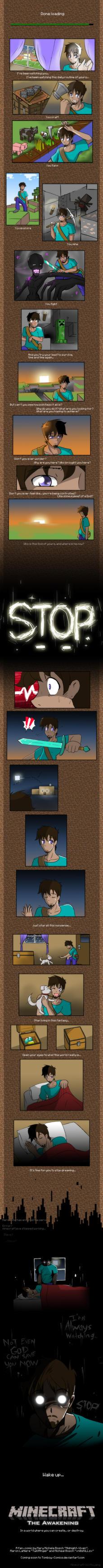 Minecraft Comic Teaser by MidNight-Vixen