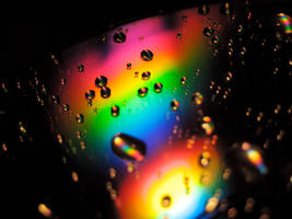 rainbow Rain by PenguinLamp