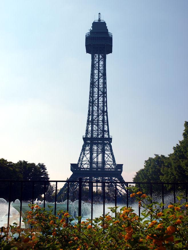 Eiffel Tower by kifaeriewench