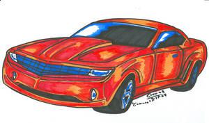 Camaro- colored :D