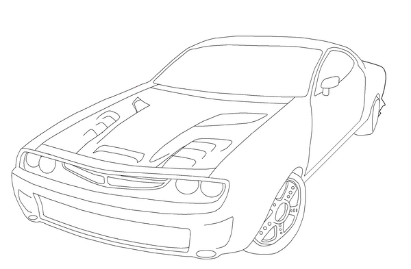 Epics Challenger Coloring Pages